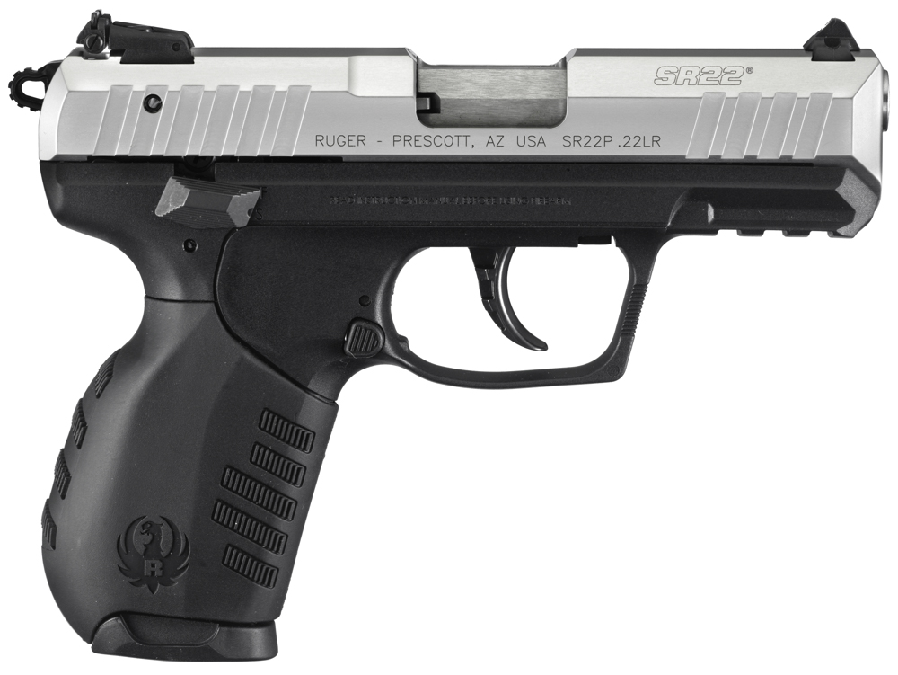 The SR22 is a modern pistol with features found on many more expensive models.